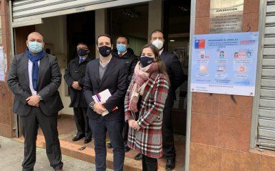 Jefe del Departamento de Asistencia Jurídica visitó dependencias de la Corporación de Asistencia Judicial Biobío en Concepción